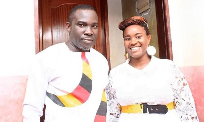 Bishop Stephen Senfuma and wife